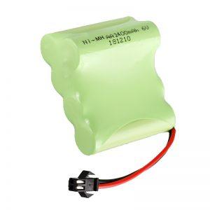 NiMH可充电电池AA2400 6V可充电电动玩具工具电池组