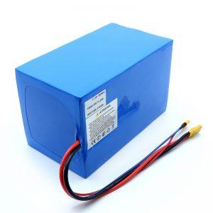锂电池18650 48V 51.2AH 24v 30V 60V 15ah 20Ah 50Ah锂离子电池18650 48V电动踏板车锂离子电池组