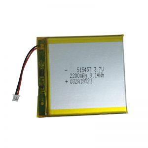 3.7V 2200mAh聚合物锂电池,用于智能家居设备