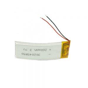 LiPO定制电池302045 3.7V 260mAh