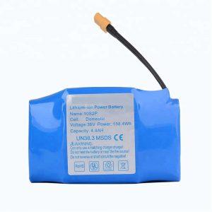 最畅销的36v 4400mAh 10s2p气垫板锂电池组