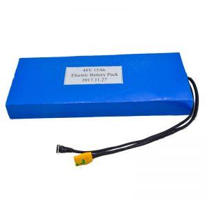 批发15Ah 48V电动踏板车锂电池