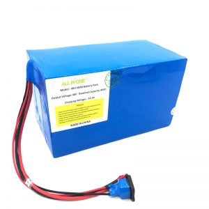 定制的18650 48V 40Ah锂电池组,用于电动自行车,电动船,电动踏板车