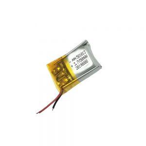 高品质锂聚合物电池3.7V 50mAh 581013电池