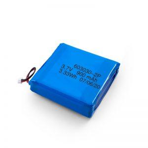 定制可充电3.7V 450530550700750800900Mah Li-Po Lipo Battery