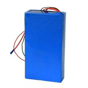 电动踏板车可充电60v 12ah锂电池
