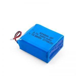 LiPO可充电电池624948 3.7V 1800mAH / 3.7V 5400mAH