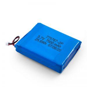 定制3.7V 2450 2600 3900 4000 4500 4700 5000 6000 9000Mah聚合物锂聚合物电池