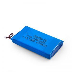 LiPO可充电电池783968 3.7V 4900mAH / 7.4V 2450mAH / 3.7V 2450mAH /