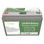 一站式深度循环12V100Ah LiFePO4电池,带有智能BMS,适用于家用储能系统