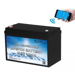 低温磷酸铁锂电池12V 100AH