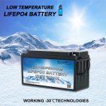 在一个低温磷酸铁锂电池中引入全部