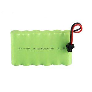 镍氢可充电电池AA 2400mAh 7.2V