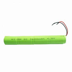 NiMH可充电电池SC 3600mAH 4.8V