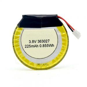 LiPO定制电池363027 3.7V 225mAH