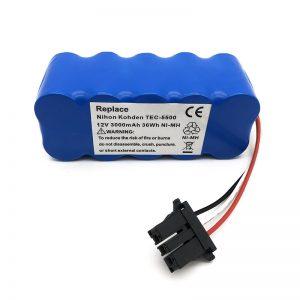 真空吸尘器TEC-5500,TEC-5521,TEC-5531,TEC-7621,TEC-7631的12v镍氢电池